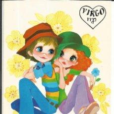 Postales: POSTAL *MARTA RIBAS* - HOROSCOPO VIRGO - ED. BERGAS 1975. Lote 272500248