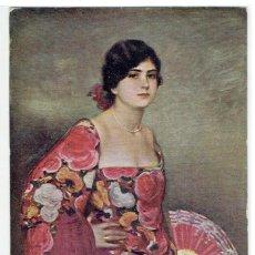 Cartes Postales: POSTAL ARTISTICA DIBUJADA, ESPAÑA, RAMON CASAS, LA DEL MAN, EDICIONES VICTORIA, NR.151, SIN CIRCULAR. Lote 273745028