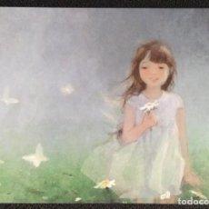 Postales: 7301B - KATERINA BABOK - LA NIÑA DE LAS MARGARITAS -EDICIONES ACARDS.BY- 14,5X10,5 CM. Lote 276438288