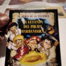 Postales: POSTAL COMICS LA LEYENDA DEL PIRATA BARBANEGRA. Lote 277199468