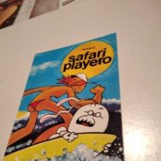 Postales: POSTAL SAFARI PLAYERO. Lote 277200548