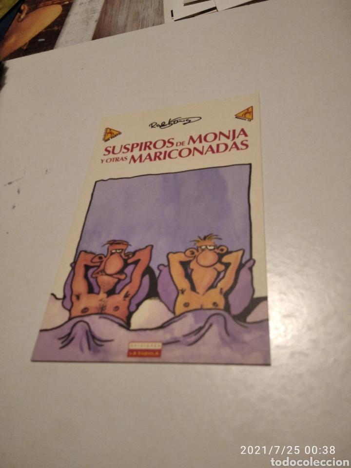 POSTAL COMICS SUSPIROS DE MONJA Y OTRAS MARICONADAS (Postales - Dibujos y Caricaturas)