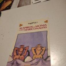 Postales: POSTAL COMICS SUSPIROS DE MONJA Y OTRAS MARICONADAS. Lote 277200833