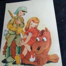 Cartoline: POSTAL TRIO * COMO POR ARTE DE HECHICERÍA.... * 1944. Lote 277510323