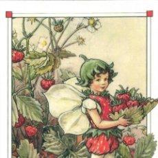 Postales: 7360B -CICELY MARY BARKER- HADA DE LAS FLORES (FLOWERS FAIRIES) CODE PC 6B14-14,5X10,3 CM - NUEVA. Lote 277754363