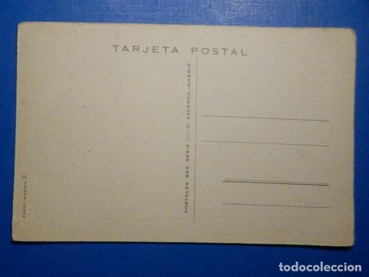 Postales: Postal Dibujos y caricaturas - Si esposa mia, en la ausencia - Postales Bea serie XIV - 1951 - Foto 2 - 278628208