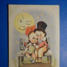 Postales: POSTAL DIBUJOS Y CARICATURAS - LUNA DE MIEL - CMB - C.M.B SERIE 27 - 1947. Lote 278628313