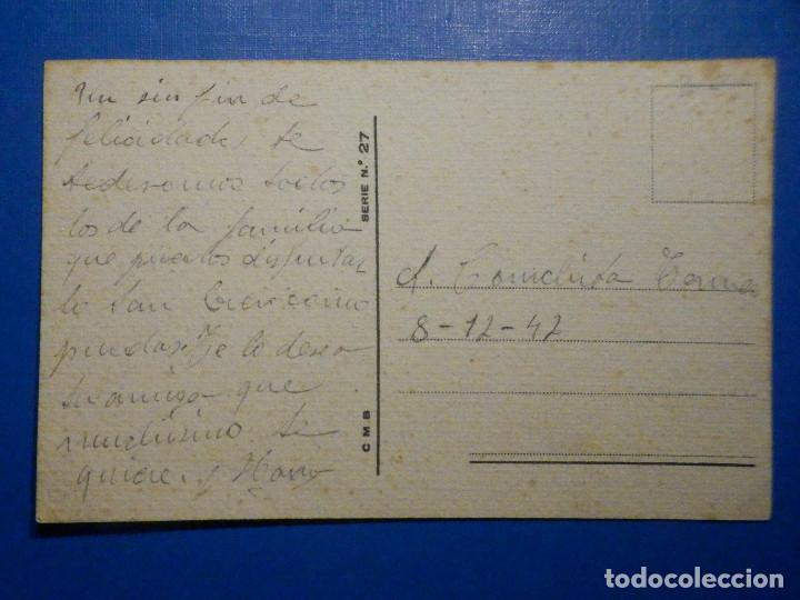 Postales: Postal Dibujos y caricaturas - Luna de miel - CMB - C.M.B Serie 27 - 1947 - Foto 2 - 278628313