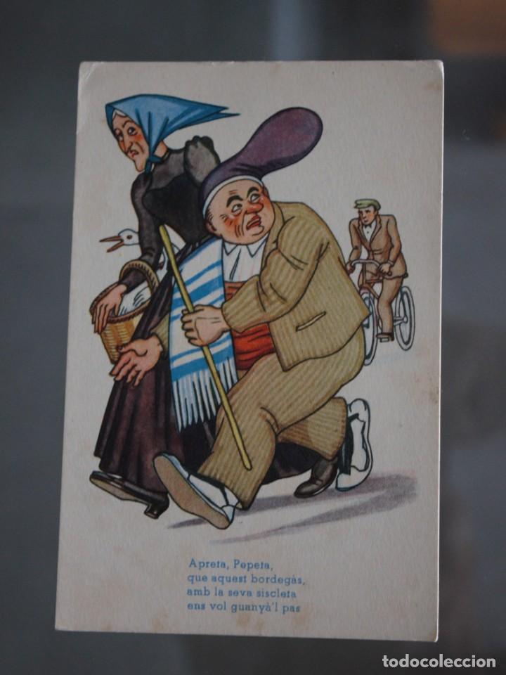 POSTAL SATIRICA (Postales - Dibujos y Caricaturas)