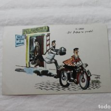 Postales: POSTAL MINGOTE EL CASCO, 1962 D.G. DE LA JEFATURA DE TRAFICO. Lote 278923568