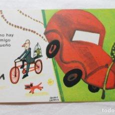 Postales: POSTAL D.G. DE LA JEFATURA DE TRAFICO CHUMY CHUMEZ, 1963 NO HAY ENEMIGO PEQUEÑO. Lote 278924498