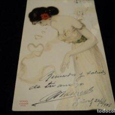 Postales: ANTIGUA POSTAL ILUSTRADA POR RAPHAEL KIRCHNER, ZURICH, 1905. Lote 288590643