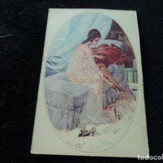 Postales: POSTAL ARTISTICA DIBUJADA, ITALIA, UFF.REV.STAMPA , 138/5 MILANO, SIN CIRCULAR. Lote 288940423