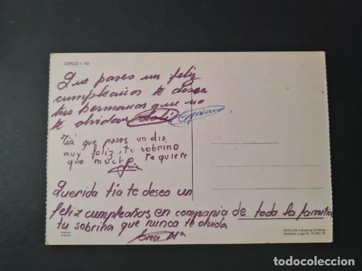 Postales: LOTE AB 20-50 POSTAL CIRCO BERGAS ALONSO - Foto 2 - 288997233
