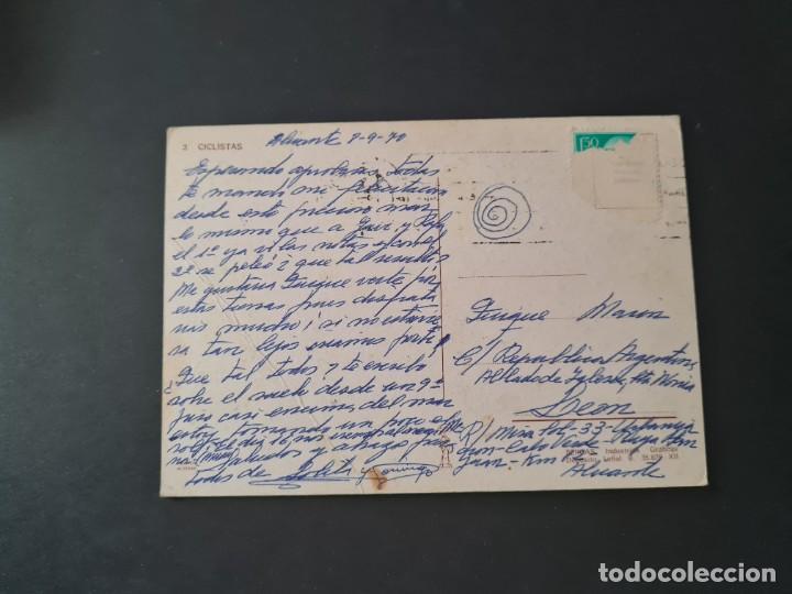 Postales: LOTE AB 20-50 POSTAL CICLISTAS MARTA RIBAS ED. BERGAS - Foto 2 - 288999108