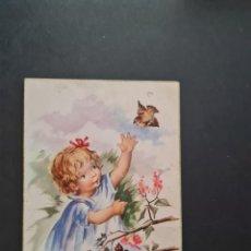 Cartoline: LOTE AB 40-2000 POSTAL NIÑA CYZ 507 BARO. Lote 289002368
