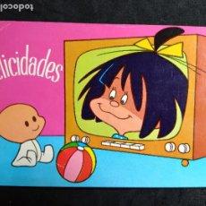 Postales: POSTAL * CLEO , DE LA FAMILIA TELERIN * FHER 1965. Lote 289216328