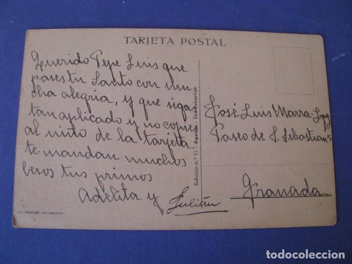 Postales: POSTAL DE ILUSTR. M. D. ED. AGUIRRE. Nº 11. ESCRITA. - Foto 2 - 289588728