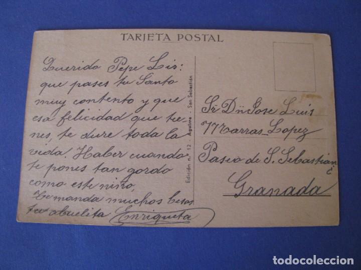 Postales: POSTAL DE ILUSTR. M. D. ED. AGUIRRE. Nº 12. ESCRITA. - Foto 2 - 289588768