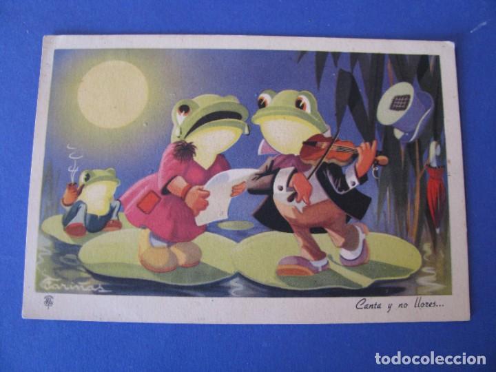POSTAL DE ILUSTR. FARIÑAS. ED. TRIO, SERIE 34. ESCRITA 1946. (Postales - Dibujos y Caricaturas)