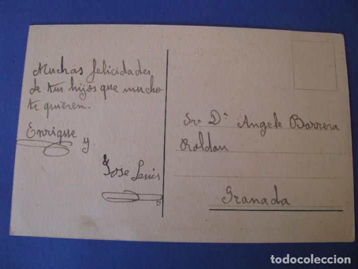 Postales: POSTAL. CON ALGUIEN HABLA AMPARITO... Nº 12 ESCRITA. - Foto 2 - 289589698