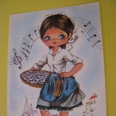 Postales: POSTAL DE IL. CREUS? TIPICA VASCA. ED. SAVIR 6114.. Lote 289700973