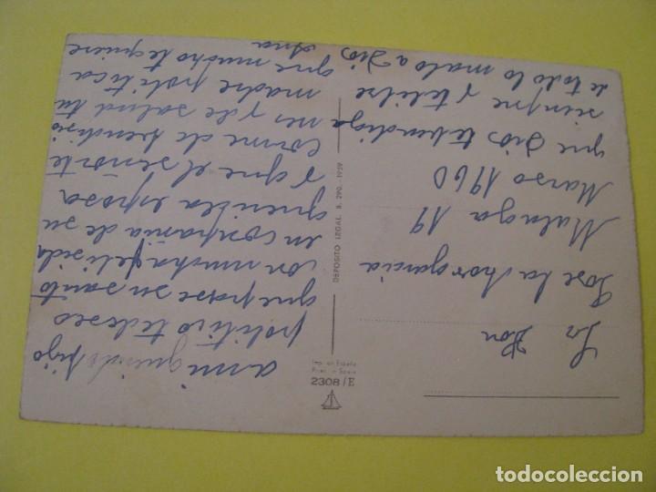 Postales: POSTAL DE ED. VELERO, ANCORA?. Nº 2308/E. BAILE FLAMENCO, SEVILLA. PURPURINAS. ESCRITA 1960. - Foto 2 - 289701528