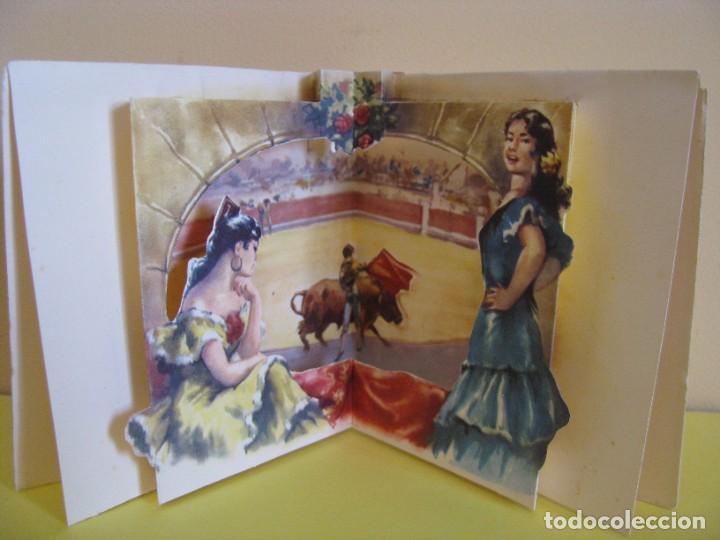 Postales: POSTAL TROQUELADA DE IL. CABEDO TORRENTS. ED. SUBI. 10395/1. 1959. 11X11,5 CM. - Foto 2 - 289702318