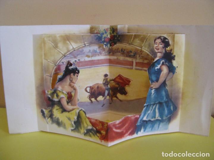 Postales: POSTAL TROQUELADA DE IL. CABEDO TORRENTS. ED. SUBI. 10395/1. 1959. 11X11,5 CM. - Foto 2 - 289702363