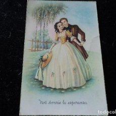 Postales: NOS SONRÍE LA ESPERANZA - ED. CYZ 522 CIRCULADA 1950. Lote 290002488
