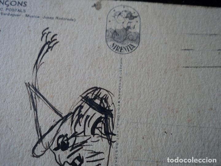 Postales: poemes i cançons, Sirenita, serie 1026. I. Virolai, rosa de abril.... - Foto 2 - 290003263
