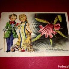 Postales: POSTAL ANTIGUA ESCRITA 1946 DIBUJANTE TRIO. Lote 294933538