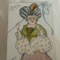 Postales: LOUIS XV ILUSTRADOR VANNOCK. ESCRITA. REVERSO SIN DIVIDIR... Lote 296898593