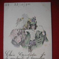 Postales: POSTAL CIRCULADA, AÑO 1901. Lote 2290188