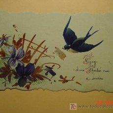 Postales: 7334 ACUARELA - 1920 UNA PEQUEÑA OBRA DE ARTE ORIGINAL MAS EN MI TIENDA TC COSAS&CURIOSAS. Lote 27134575