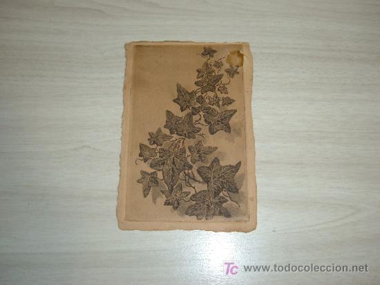 POSTAL GRABADO (Postales - Postales Temáticas - Dibujos originales y Grabados)