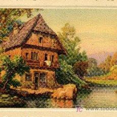 Postales: POSTAL PAISAJE ANTIGUA 1952 - ESCRITA POR DETRAS A PLUMILLA CON LETRA INGLESA. Lote 26411350