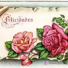 Postales: POSTAL FELICITACION 1952 - ESCRITA POR DETRAS . Lote 26236754