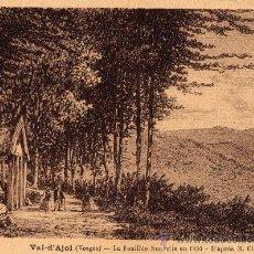 Postales: ANTIGUA POSTAL DE GRABADO DEL VAL D´AJOI. Lote 8417214