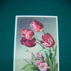 Postales: POSTAL FLORES 1950. Lote 27648971