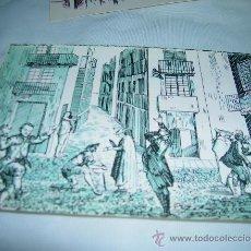 Postales: TARJETA POSTAL, Nº 4. EXPRESIONES DE LOS JUGADORES DE LA REAL LOTERIAS. GRABADO ANONIMO SIGLO XVIII.. Lote 11018455