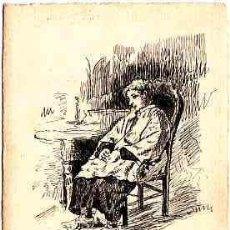 Postales: POSTAL DIBUJADA A MANO FIRMADA POR A. ABELLO DE REUS AÑO 1911. Lote 11252620