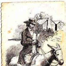 Postales: POSTAL DIBUJADA A MANO FIRMADA POR J. ABELLO DE REUS AÑO 1914. Lote 11252642