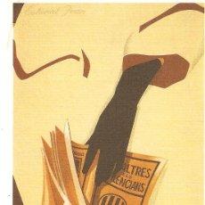 Cartes Postales: ANTONI MIRO. ESTIMAT JOAN 1991. ALCOIARTS MAIL - ART.. Lote 26247157