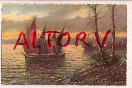 ANTIGUA POSTAL STAMPATA CASA EDITRICE (Postales - Postales Temáticas - Dibujos originales y Grabados)