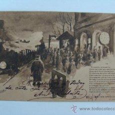 Postales: ANTIGUA POSTAL DE PUBLICIDAD - FOT. HAUSER Y MENET 1906. Lote 18292839