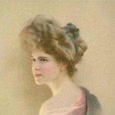 Postales: BELLEZA SERENA. POSTAL COLOR, C. 1915. FRANCIA ?. Lote 26139358