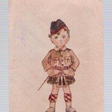 Postales: POSTAL INGLESA. DIBUJO ORIGINAL. FECHADO EN CADIZ EN 1926.. Lote 18720160