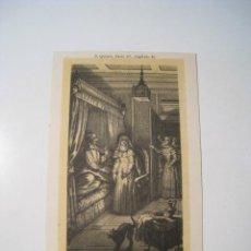 Postales: DON QUIJOTE: PARTE 2: CAPITULO 48 - POSTAL ILUSTRADA. Lote 18893274