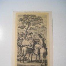 Postales: DON QUIJOTE: PARTE 2: CAPITULO 10 - POSTAL ILUSTRADA. Lote 18893312